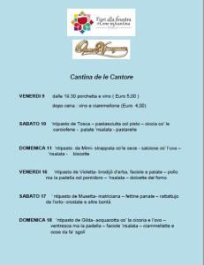 CANTINA DE LE CANTORE
