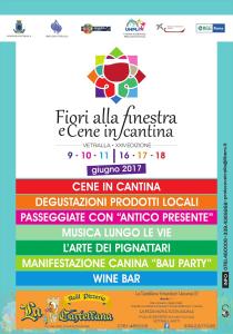 """""""Fiori alla Finestra e Cene in Cantina"""""""
